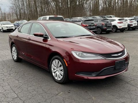 Pre-Owned 2016 Chrysler 200 4dr Sdn LX FWD Front Wheel Drive 4dr Car
