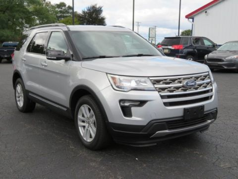 Pre-Owned 2018 Ford Explorer XLT Four Wheel Drive Sport Utility