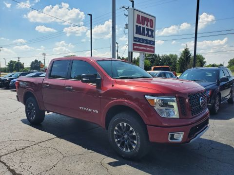 Pre-Owned 2019 Nissan Titan PRO-4X Four Wheel Drive Short Bed