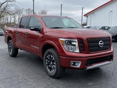 Pre-Owned 2019 Nissan Titan 4x4 Crew Cab PRO-4X Four Wheel Drive Crew Cab Pickup