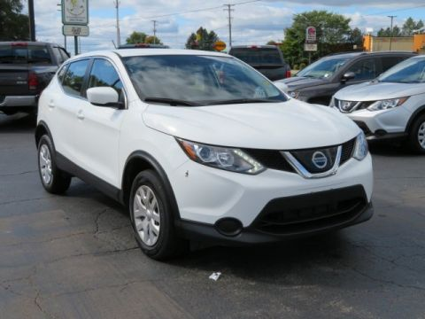 Pre-Owned 2018 Nissan Rogue Sport S All Wheel Drive Sport Utility